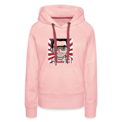 RadioLive - Sweat-shirt à capuche Premium pour femmes