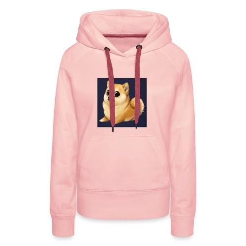 CuteDogiiShirt<3 - Frauen Premium Hoodie