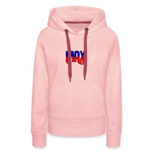 MAX Logo - Women's Premium Hoodie