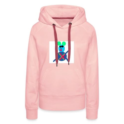 Maus - Frauen Premium Hoodie