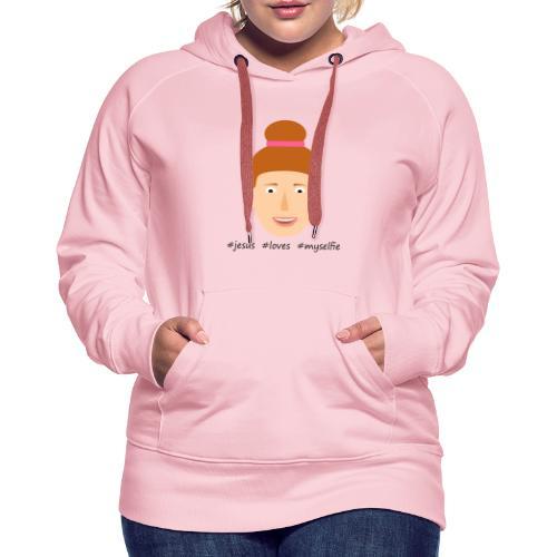 jesus loves myselfie - Frauen Premium Hoodie
