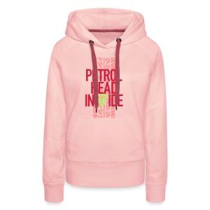 Petrolhead inside - Sweat-shirt à capuche Premium pour femmes