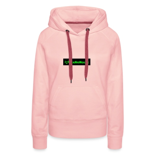 logo full - Vrouwen Premium hoodie