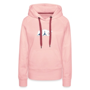 Yoga is an art of balance, mind and body - Women's Premium Hoodie