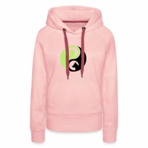 animaltraining logo - Vrouwen Premium hoodie