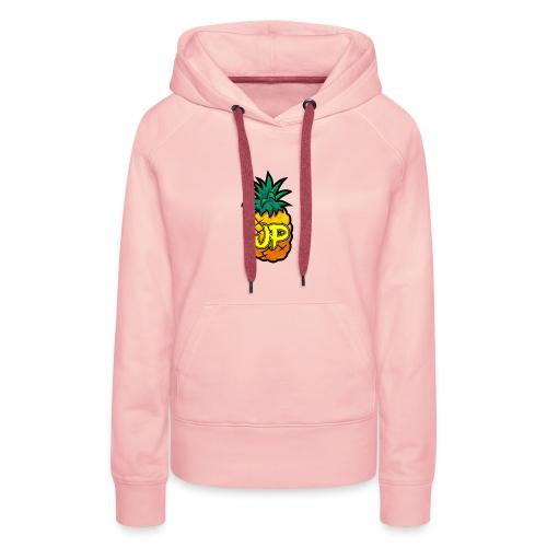 Just Pine Logo Yellow - Women's Premium Hoodie