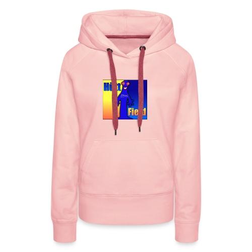 Hüttfield-Logo - Frauen Premium Hoodie