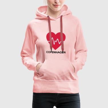 cuore Copenhagen - Felpa con cappuccio premium da donna