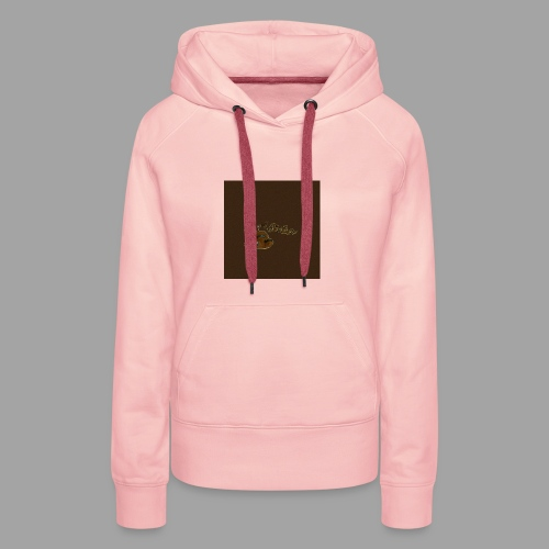 Günni Günter Desing Brown Background- - Frauen Premium Hoodie