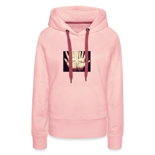Best friends et deux mains ! - Sweat-shirt à capuche Premium pour femmes