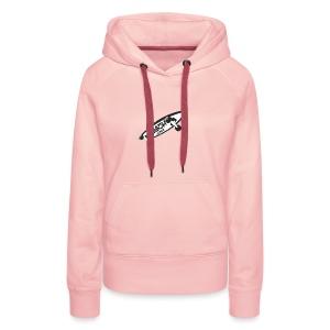 Ça roule?! - Sweat-shirt à capuche Premium pour femmes