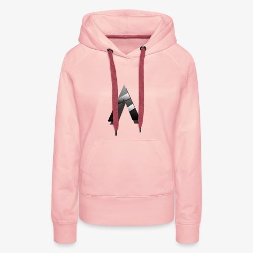 A for Arctic - Sweat-shirt à capuche Premium pour femmes