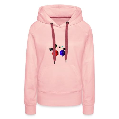 Diseño parchís camiseta - Sudadera con capucha premium para mujer