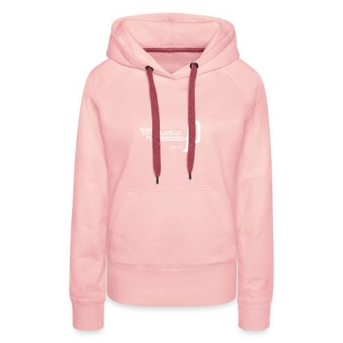 LOGO MK PIANS weiss dick - Frauen Premium Hoodie