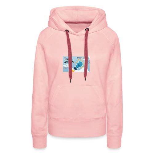 astuces mansour - Sweat-shirt à capuche Premium pour femmes