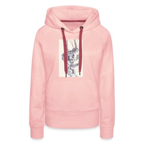 IMG_20160406_0001 - Sweat-shirt à capuche Premium pour femmes