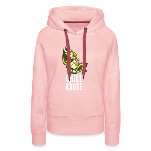 Chillkröte - Frauen Premium Hoodie