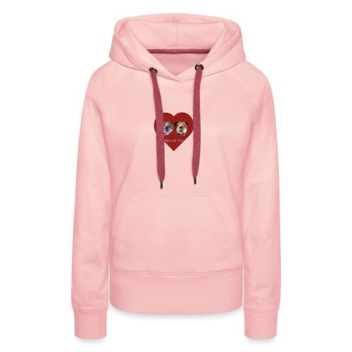 ROSCOE ET COCO - Sweat-shirt à capuche Premium pour femmes