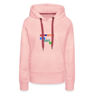 'Cash me outside how bout dat' - Women's Premium Hoodie