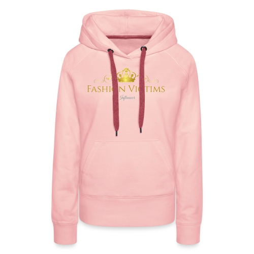 Fashion Victims Influencers Official Logo - Vrouwen Premium hoodie