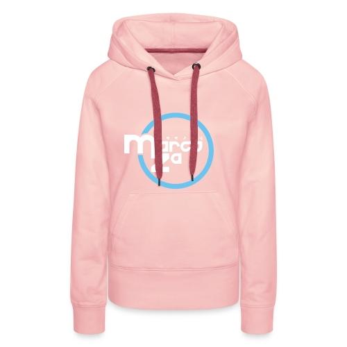 Logo White - DJ MARCOZA - Frauen Premium Hoodie