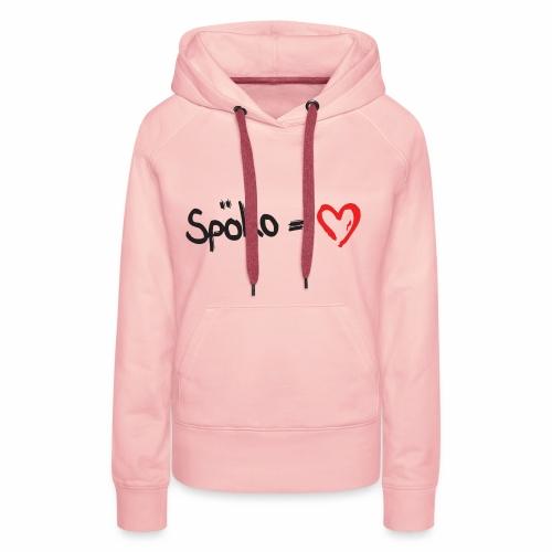 Spoeko = Herz - Frauen Premium Hoodie