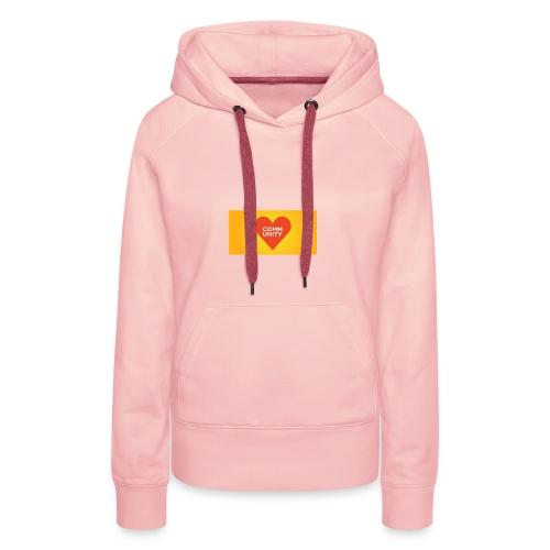 I LOVE COMMUNITY T-SHIRT - Frauen Premium Hoodie
