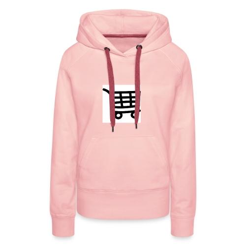 Einkaufswagen - Frauen Premium Hoodie