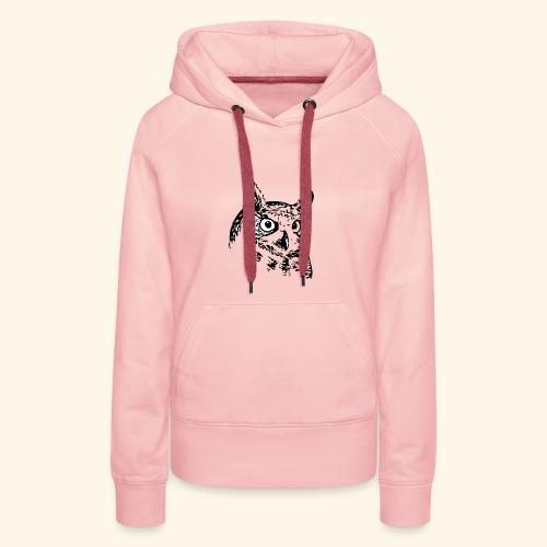 Owl - Frauen Premium Hoodie