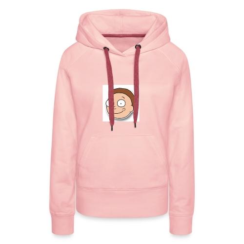 Happy Morty - Sweat-shirt à capuche Premium pour femmes