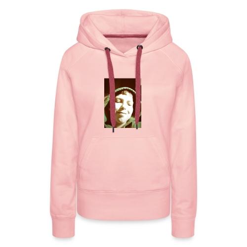 foto van mij op je shirt - Vrouwen Premium hoodie