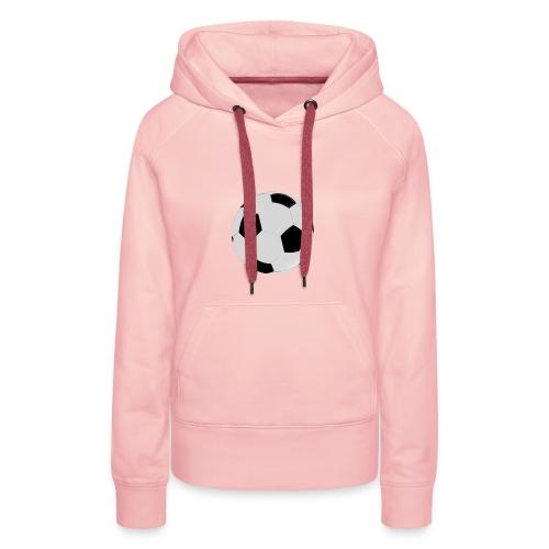 voetbal mok - Vrouwen Premium hoodie