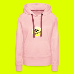 Shirt with nice logo with text - Women's Premium Hoodie