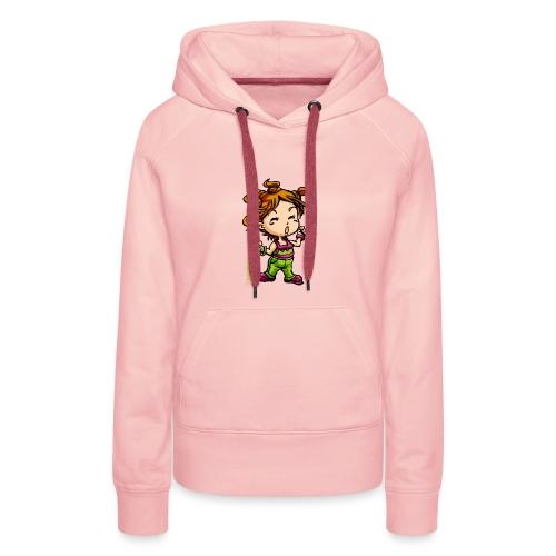Tolden Happy - Sweat-shirt à capuche Premium pour femmes