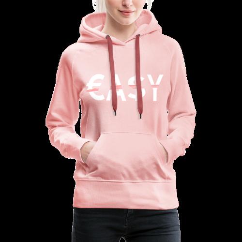 EASY - Sudadera con capucha premium para mujer