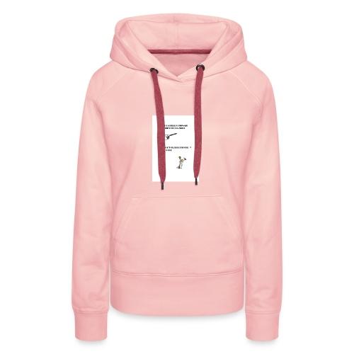 AVANT LA FILLE CUISINAIT AUSSI BIEN QUE LA MERE - Sweat-shirt à capuche Premium pour femmes