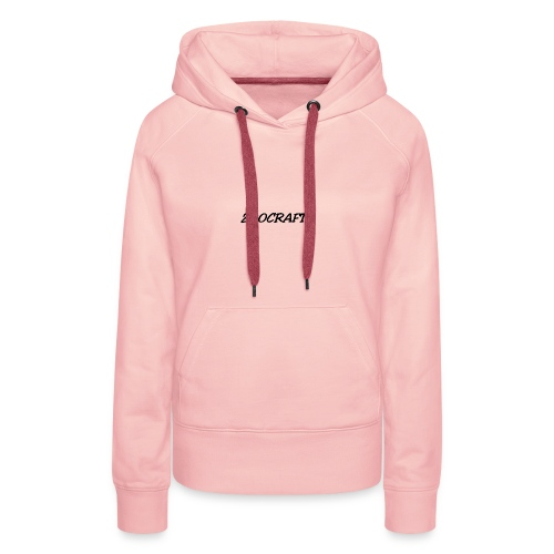 zoocraft - Sweat-shirt à capuche Premium pour femmes