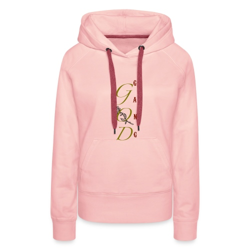 GOD GanG - Sweat-shirt à capuche Premium pour femmes