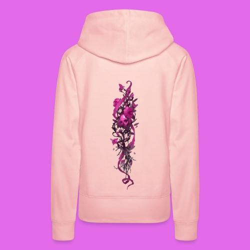 FlowerPower - Sweat-shirt à capuche Premium pour femmes