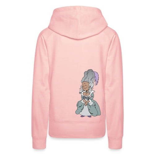 Happy Antoinette - Sweat-shirt à capuche Premium pour femmes