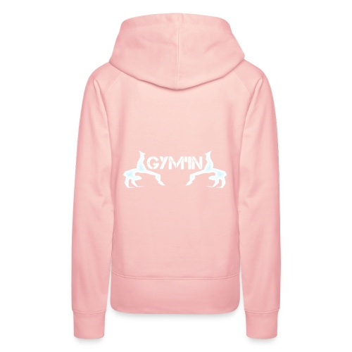 gym'n design - Sweat-shirt à capuche Premium pour femmes