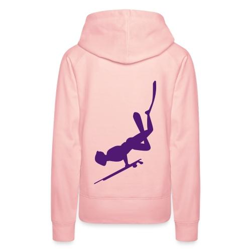 Chasseur sous-marin - Sweat-shirt à capuche Premium pour femmes