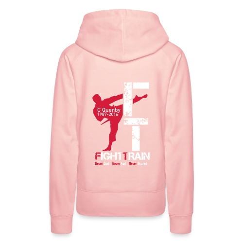 Fight Train 'The Collection' Range - Women's Premium Hoodie