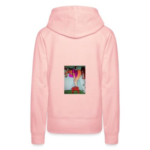 12 cps de midi - Sweat-shirt à capuche Premium pour femmes