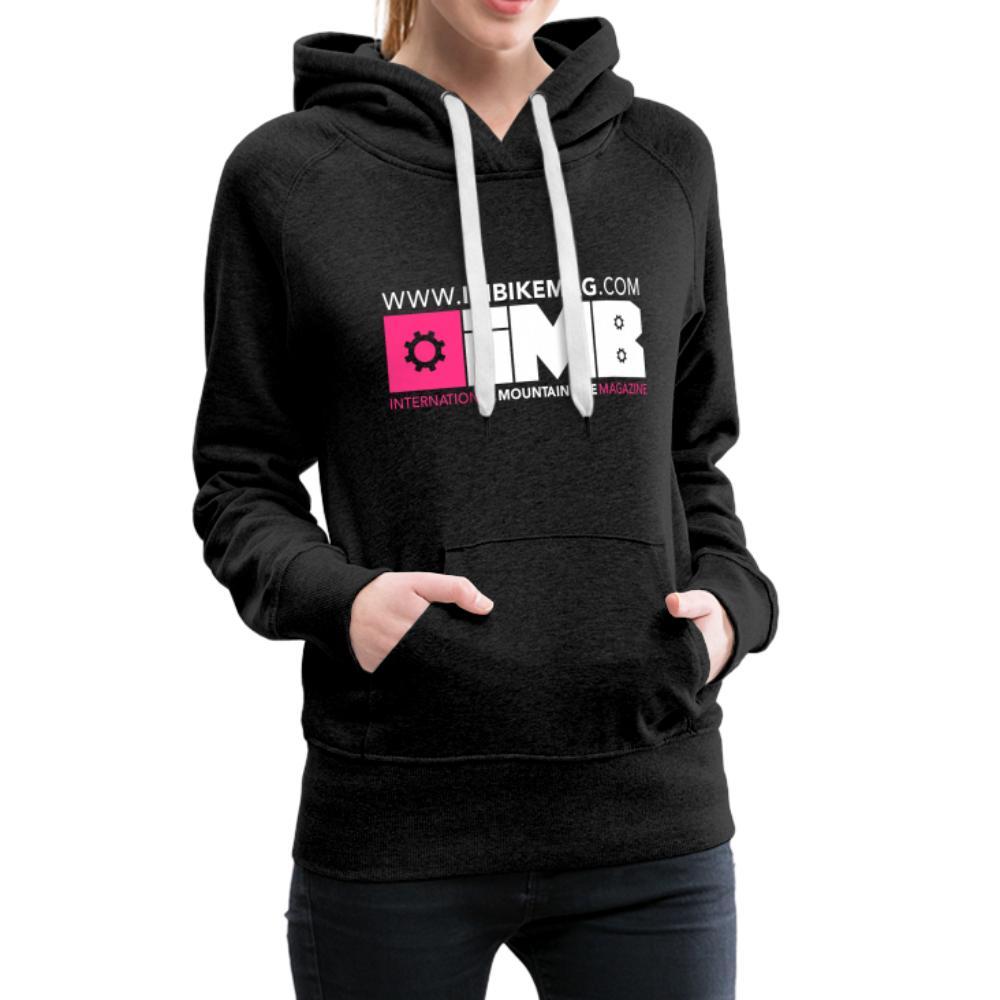 IMB Logo - Women's Premium Hoodie - charcoal grey