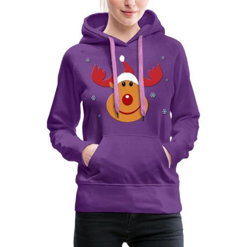 Rudolf for christmas - Vrouwen Premium hoodie