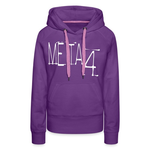 Meta4 Font Vector T-shirts - Women's Premium Hoodie