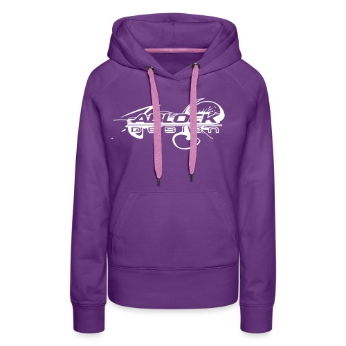 Logo Ablock Splash - Sweat-shirt à capuche Premium pour femmes