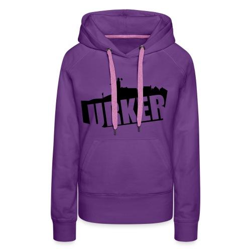 born urker - Vrouwen Premium hoodie
