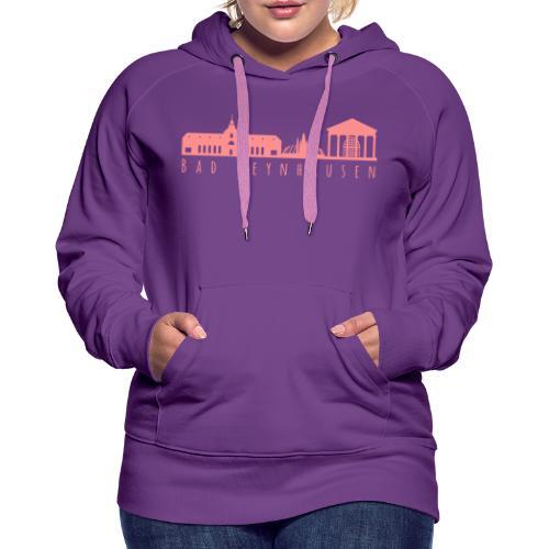 Silhouette der besten Kurstadt - Frauen Premium Hoodie